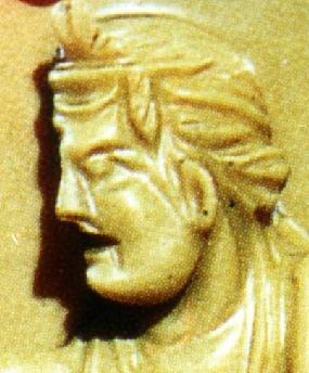 Relief mit hinterschneidung